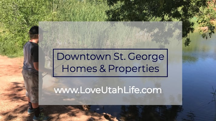 homes in downtown st. george utah