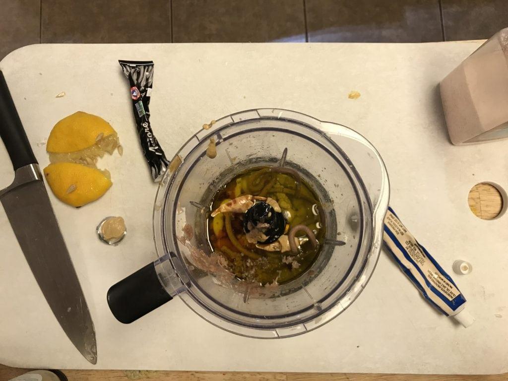 Easy homemade caesar salad dressing