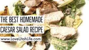 the best homemade caesar salad recipe