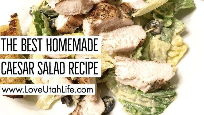 the best homemade caesar salad recipe