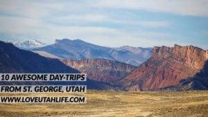 Road Trips From St. George Utah
