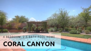 Coral Canyon Utah Pool HOme