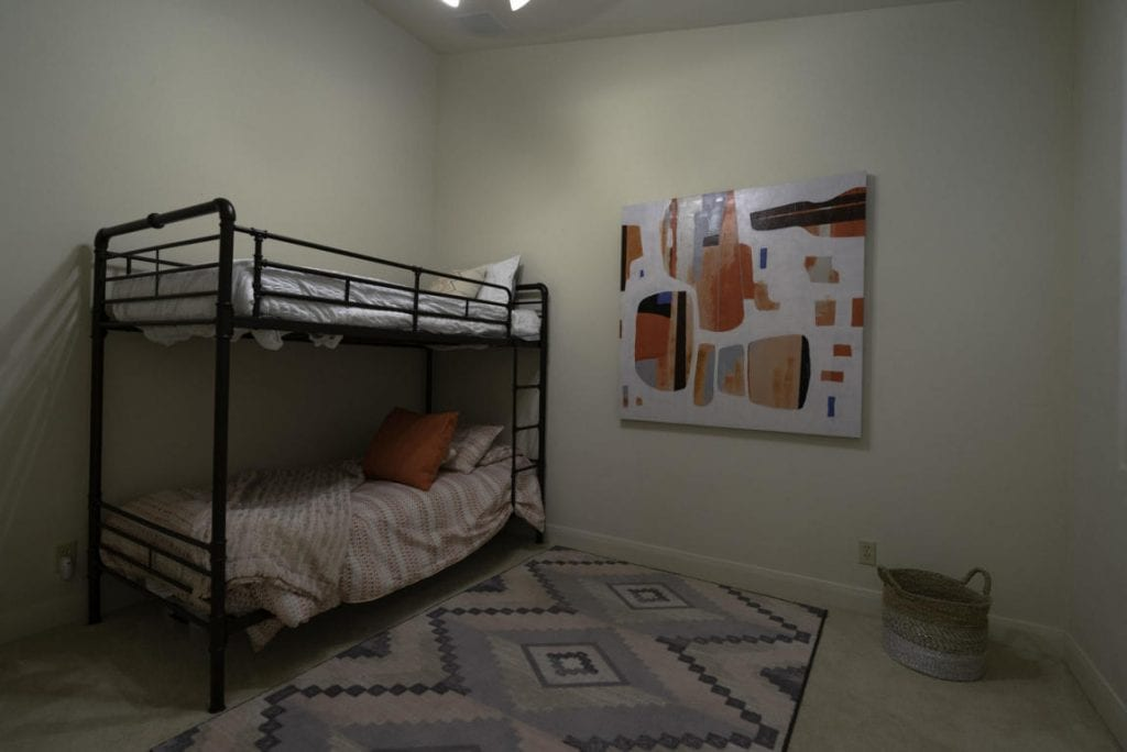 guest room with bunkbeds