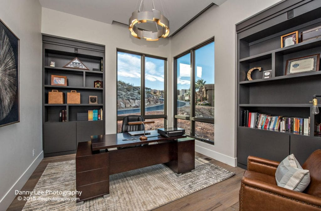 contemporary luxury home office
