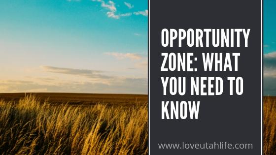 opportunity zone in utah