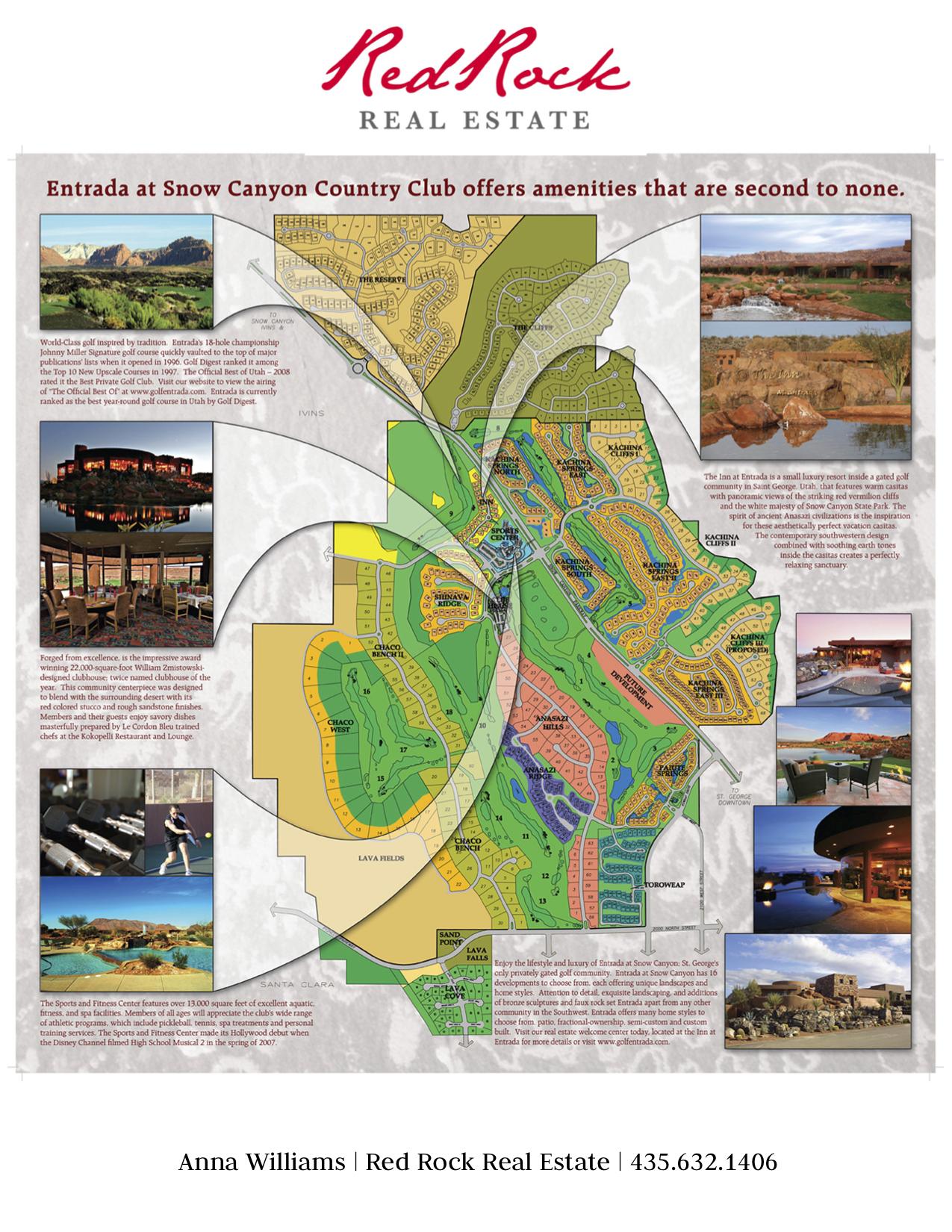 Entrada Community Map