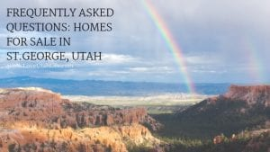 Homes for sale in St. George