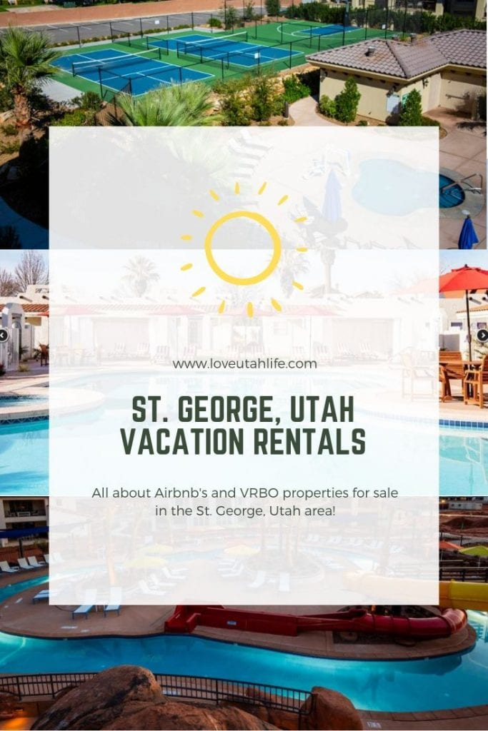 st. george utah vacation rentals