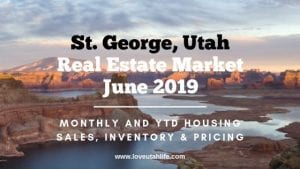 St. George Utah Real Estate Market