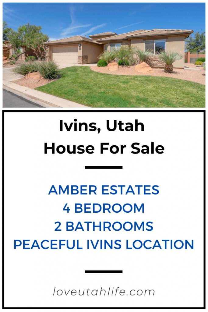 House for sale in Ivins, Utah