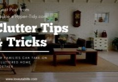 how to tidy up your house